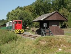 Lesní železnička Lenti - Csömödér - Kistolmács  Csömödér