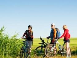 Na jízdním kole v oblasti Fertő, Hegykő