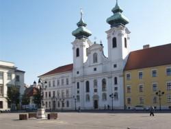 Benediktýnský kostel sv. Ignáce s Loyoly Győr