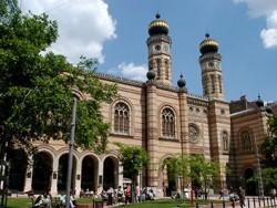 Velká synagoga - Budapest Budapešť