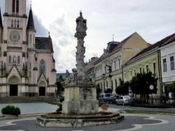 Sousoší sv. Trojice (Morový sloup)- Kőszeg Kőszeg