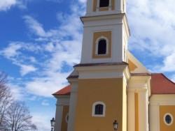 Římsko-katolický kostel Balatonkeresztúr Balatonkeresztúr