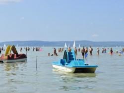 Balatonföldvár - Centrální volná pláž (Központi szabadstrand) Balatonföldvár