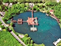 Termální jezero Hévíz Hévíz