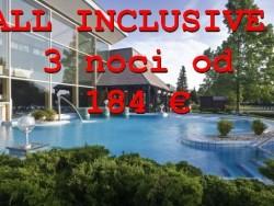 All inclusive akce na 3 noci Bükfürdő