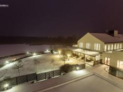 Vánoční svátky pŕi jezeru Tisza Tiszafüred